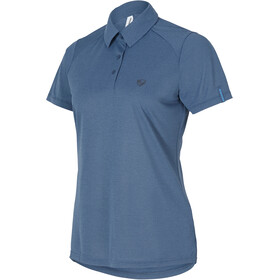Ziener Clemenzia Polo Shirt Women antique blue